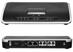 Grandstream-UCM6202-IP-PBX Asterisk Appliance front and rear.