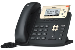 Yealink IP Phone SIP-T23P desk phone.