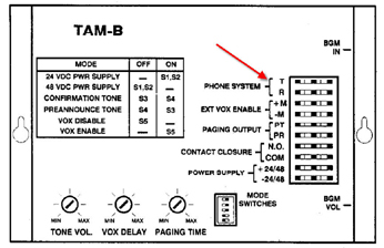bogan_tamb_diagram how to connect paging or speakers to an asterisk voip pbx phone pbx system wiring diagram at aneh.co