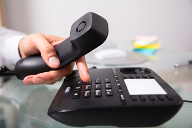 Business IP PBX VoIP phone system.