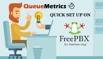 QueueMetrics is made for FreePbx.