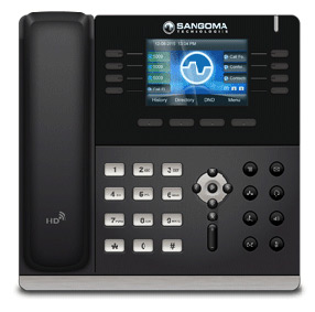 Sangoma S series IP phone for FreePBX.